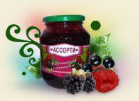 Ассорти ягодное протертое с сахаром